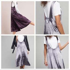 NWT Maeve Velvet Jumper skirt